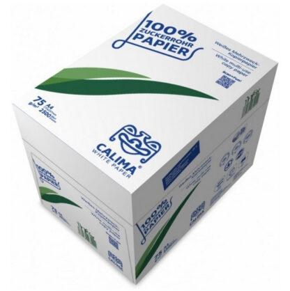 Kopierpapier nachhaltig weiß Zuckerrohr mehrzwechpapier sustainable upcycling treefree