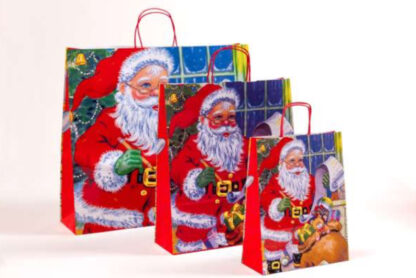 Papierkordeltasche Werbemittel Xmas WeihnachtenPapierkordeltasche Werbemittel Schneekristalle WeihWeihnachtsmann Nikolaus Rot Einkaufstasche Papiertasche günstig schnelle Lieferung kompetent preiswert günstig Größenformate