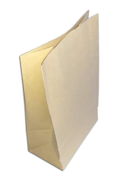 Seitenfaltenbeutel Go Green Nachhaltig Sustainability Save the Planet Bagasse Zuckerrohrpapier Brotzeittaschen Seitenfaltenbeutel Beige Verpackung Natural Paper Calima